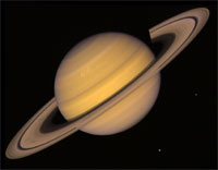 Saturn - Voyager Image