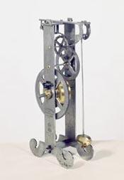 Pendulum Clock, based on Galileo's idea.