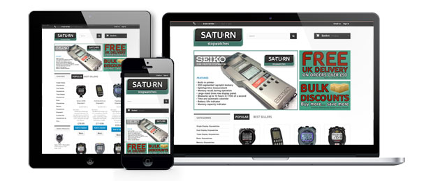 New Saturn Stopwatches Website